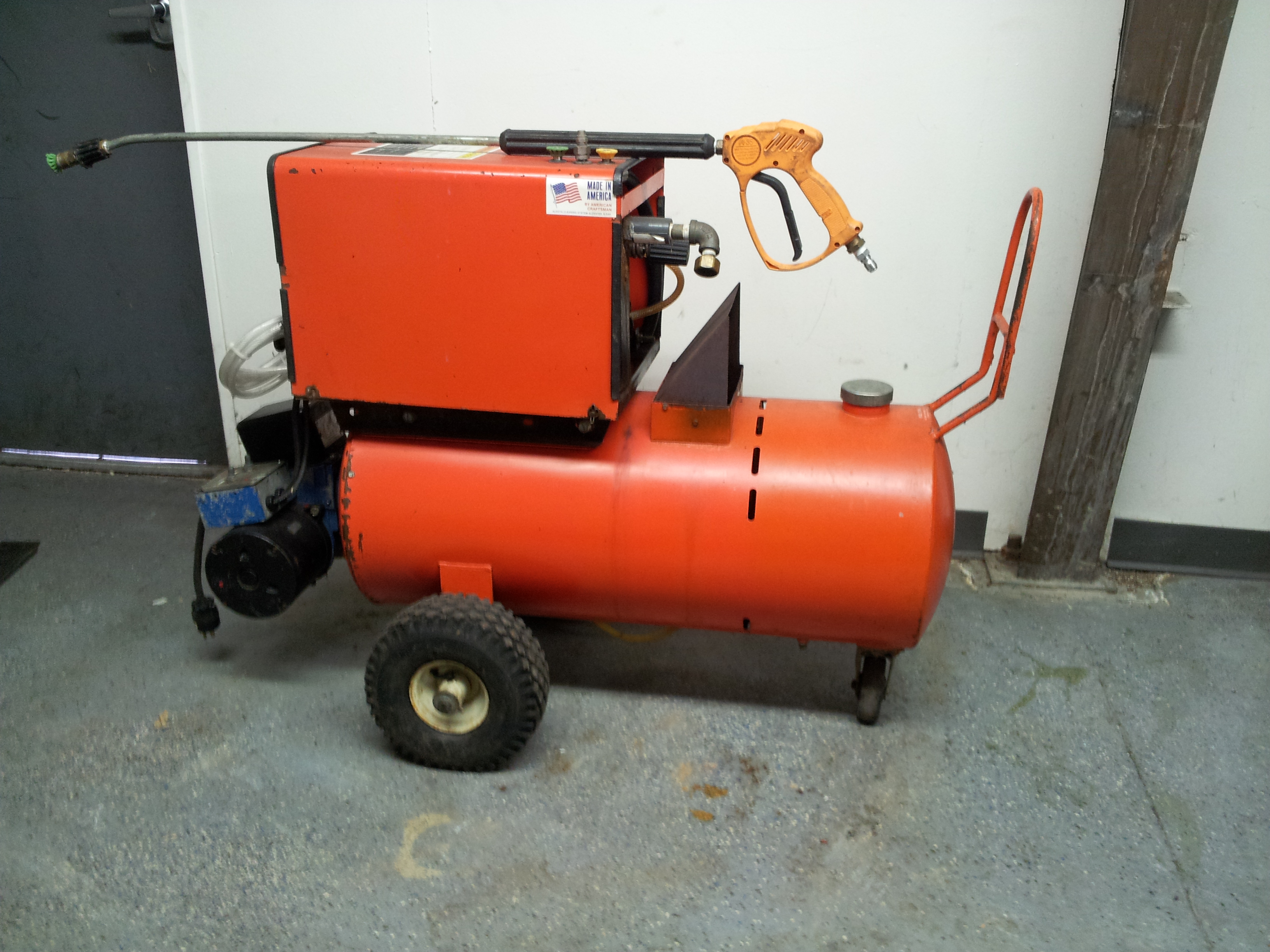 Honda Gx340 Pressure Washer 3004 Contractor Series