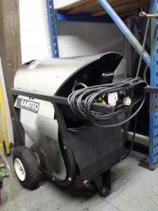 120v Ramteq Diesel Burner 1000psi 3gpm
