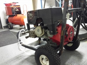 11hp Honda Cold Water 3200psi 4gpm